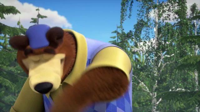 دانلود انیمیشن ماشا و میشا - قسمت 299