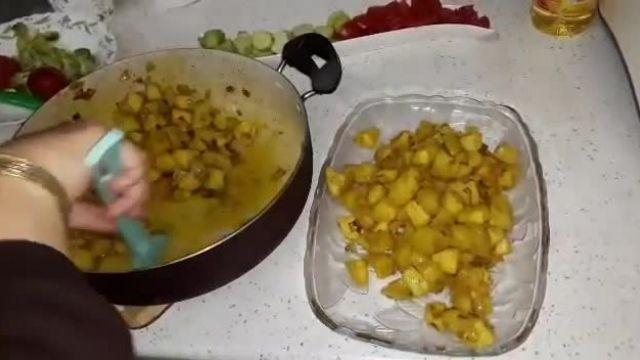 دستور پخت دوپیازه سیب زمینی غذای سنتی شیراز