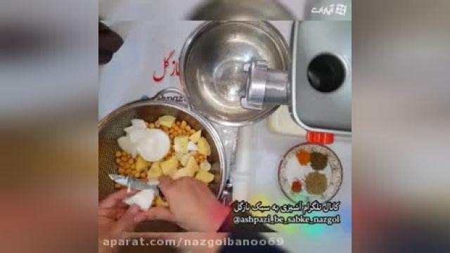 دستور پخت فلافل خانگی
