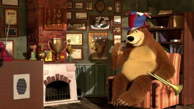 دانلود انیمیشن ماشا و میشا - قسمت 520