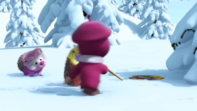 دانلود انیمیشن ماشا و میشا - قسمت 555