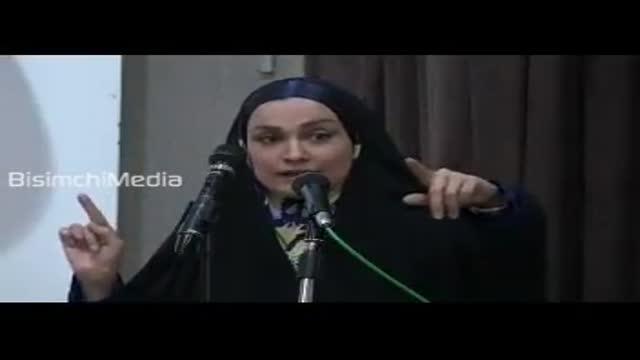 توبیخ خاله نرگس مجری معروف کودک به خاطر صلوات و دعای فرج