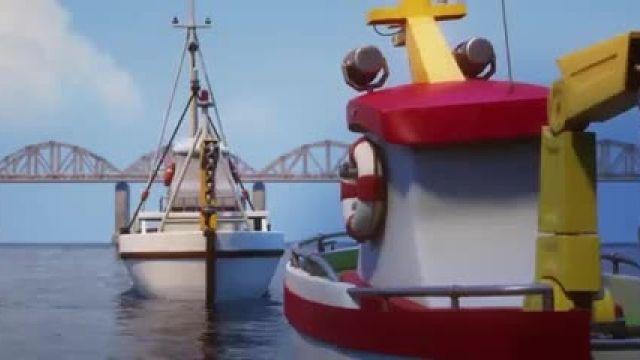 دانلود انیمیشن تندر، قایق نجات (Anchors Up 2017) دوبله فارسی