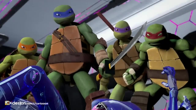 دانلود کارتون لاکپشت های نینجا دوبله فارسی قسمت: 2