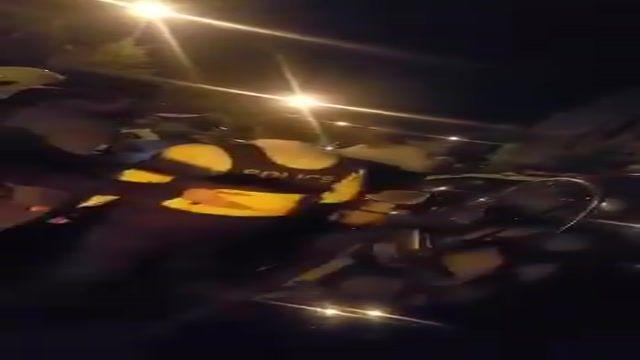 فیلم تصادف پورشه با پراید در اصفهان