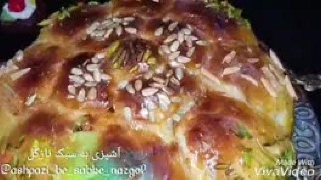 درست کردن نان_شیرمال