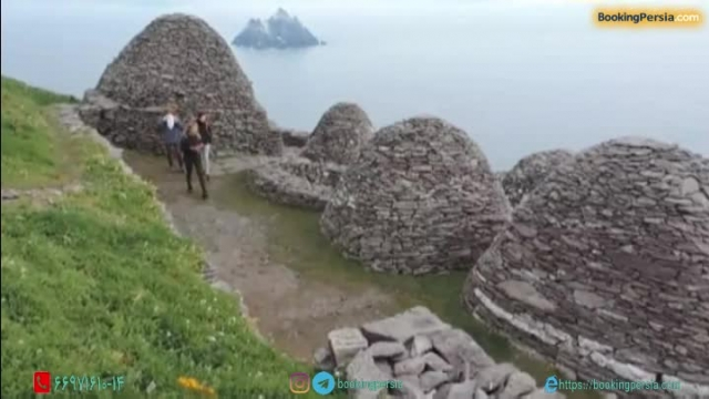 جزیره اسکلیگ در ایرلند، لوکیشن فیلم جنگ ستارگان در اقیانوس اطلس - بوکینگ پرشیا