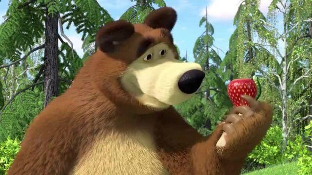 دانلود انیمیشن ماشا و آقا خرسه | ماجرای آشپزی