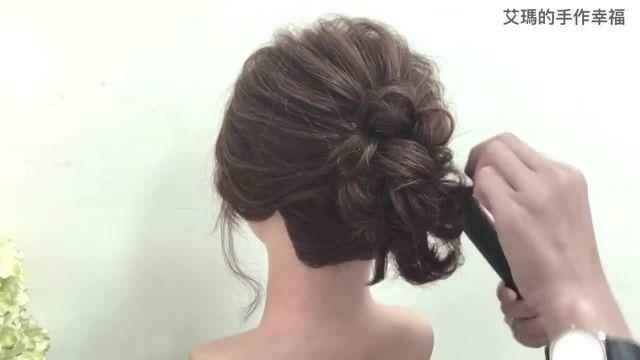 آموزش زیبا و جدید شینیون موی کوتاه با (3روش)