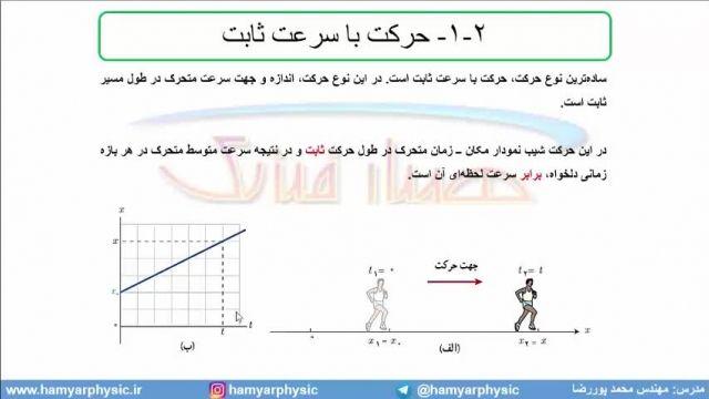 جلسه 38 فیزیک نظام قدیم - حرکت شناسی 16 و تست تجربی خ 98 - مدرس محمد پوررضا