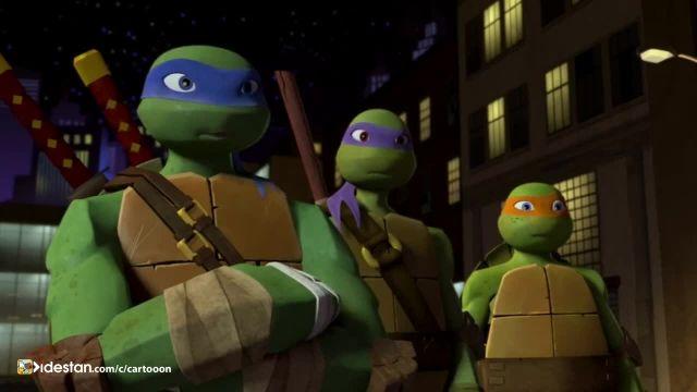 دانلود کارتون لاکپشت های نینجا دوبله فارسی قسمت: 3