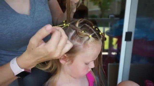 آموزش بافت موی شیک و جذاب دخترانه برای عروسی و جشن ها