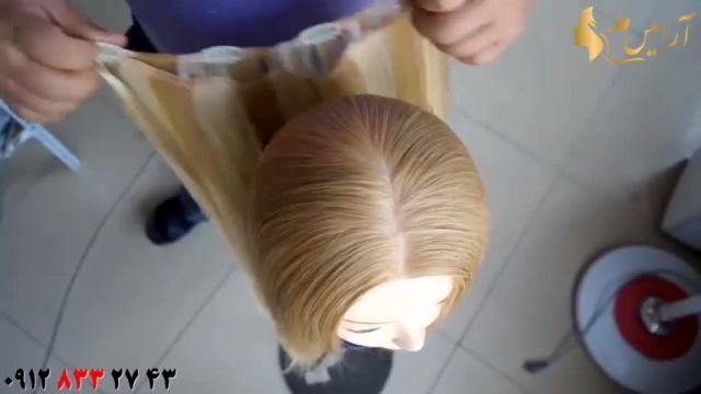 آموزش پرپشت کردن مو با اکستنشن کلیپسی