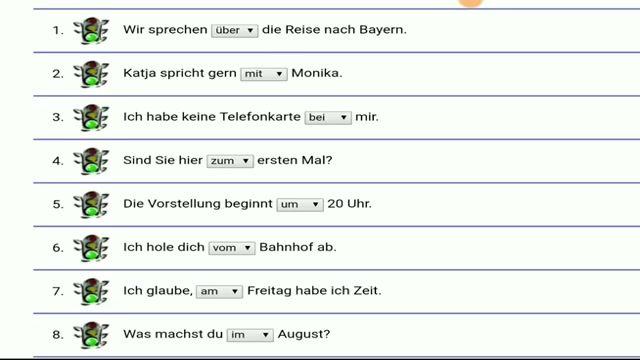آموزش زبان آلمانی-مبحث Präposition
