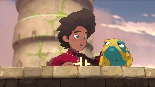 قسمت دوم فصل سوم کارتون شاهزاده اژدها The Dragon Prince 2019 تاج