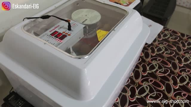 معرفی دستگاه جوجه کشی 96 تایی