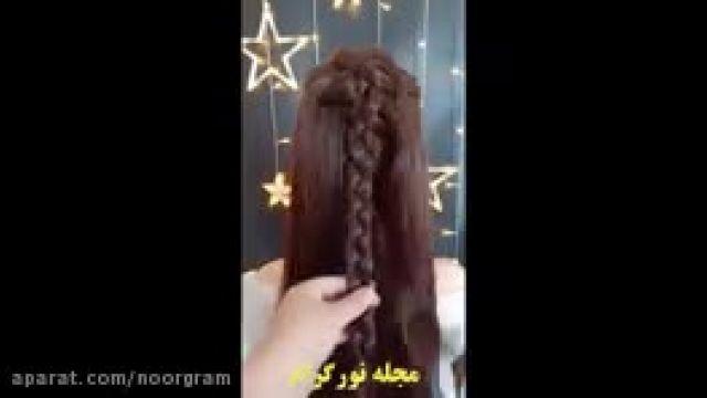 آموزش 20 مدل شینیون مو دخترانه