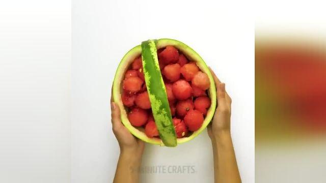 آموزش میوه ارایی و تزیین میوه جدید