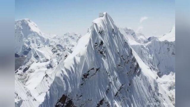فیلمی دیده نشده و خیره کننده از  ارتفاعات 20000 فوتی هیمالیا