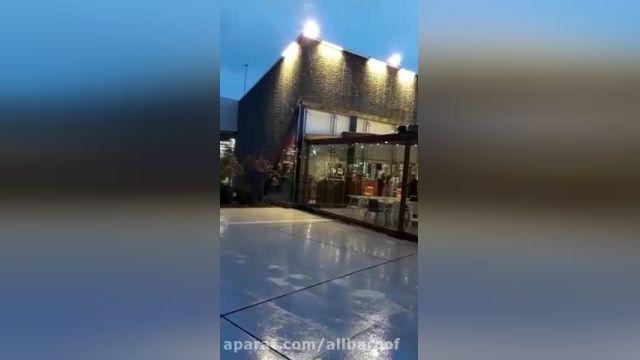 پروژه سقف متحرک پارچه ای و دیوار متحرک و راهروی متحرک باشگاه انقلاب