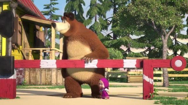 دانلود انیمیشن ماشا و میشا -  قسمت 664