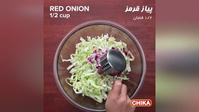 دستور آسان آشپزی: تاکو ماهی