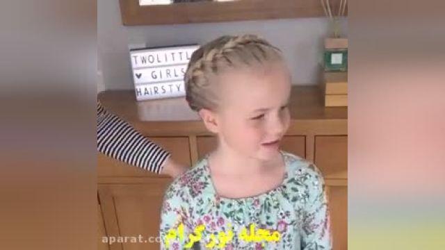 آموزش آرایش بافت  مو برای سنین پایین