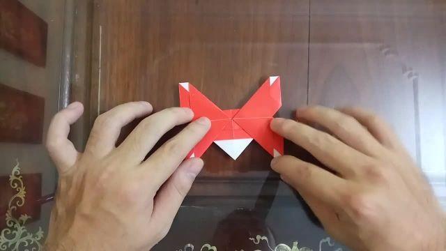آموزش درست کردن اوریگامی پروانه (ساخت کاردستی با کاغذ)