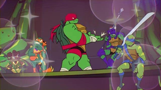دانلود کارتون خیزش لاک پشت های نینجا 2019 (Teenage Mutant Ninja Turtles) قسمت 1