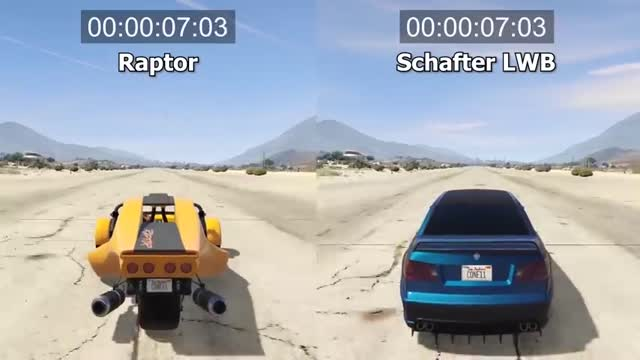 پر سرعت ترین خودروی اسپرت در GTA V