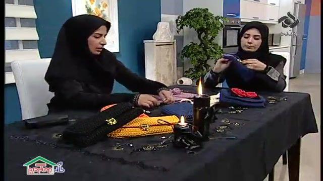 آموزش روش بافت کیف رو دوشی - آموزش قلاب بافی قدم به قدم از مبتدی تا پیشرفته