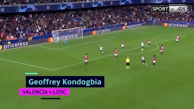 گلهای برتر دور گروهی لیگ قهرمانان اروپا