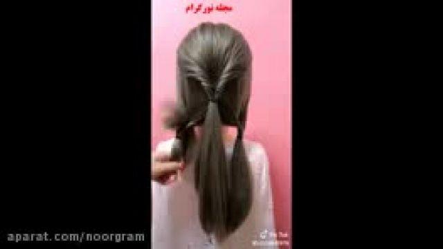 آموزش شینیون موی حرفه ای
