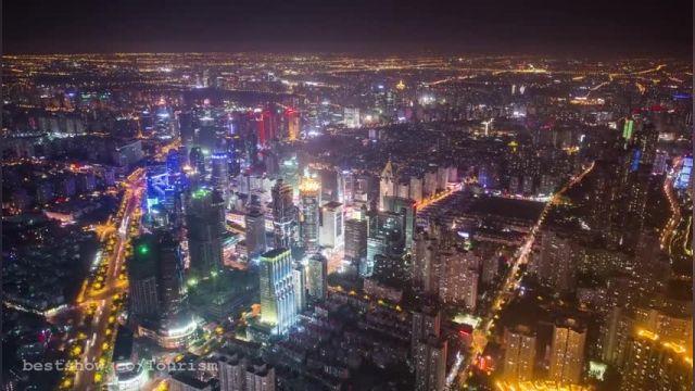 جنگل آسمانخراشها  شهر شانگهای (چین)