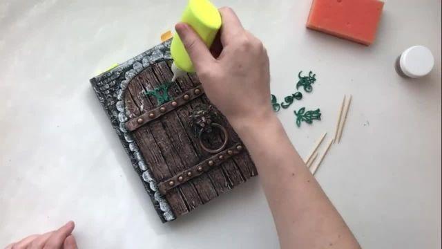 نحو ساخت دفترچه فانتزی بسیا زیبا به صورت مرحله به مرحله