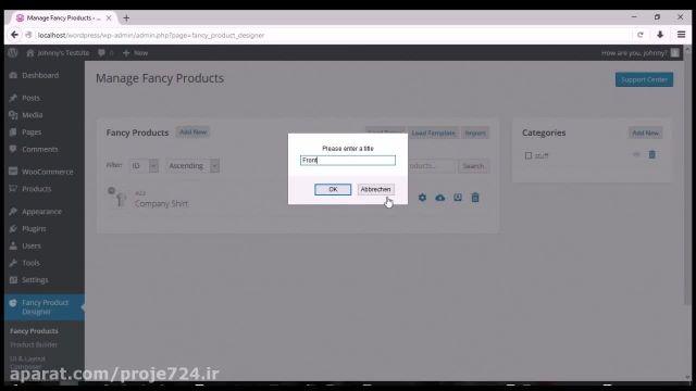 افزونه طراحی آنلاین محصول ووکامرس | Fancy | طراحی آنلاین بر روی محصولات ووکامرس