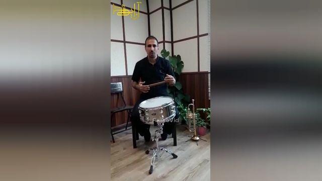 آموزش سایدرام/طبل ریز/استاد عباس دلیری