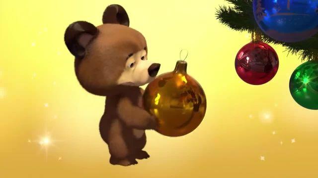 دانلود انیمیشن ماشا و آقا خرسه | ماجرای برف بازی ماشا